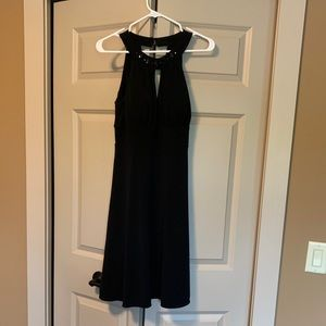 Back cocktail dress